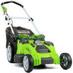 Vzdrževanje električne kosilnice Greenworks 25302 40V